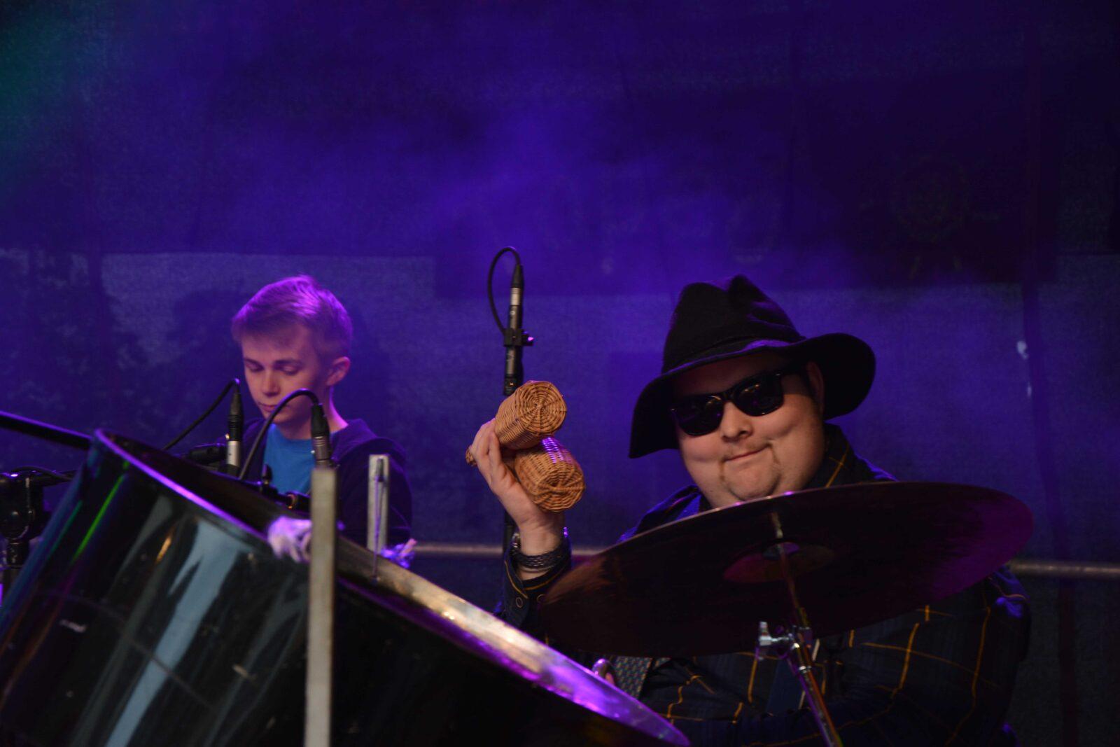 Band Boxitos beim Musik machen