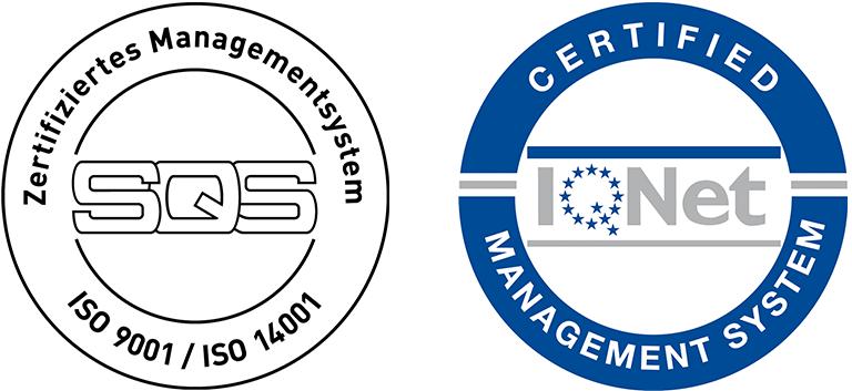 ISO-Zertifikate der ESB