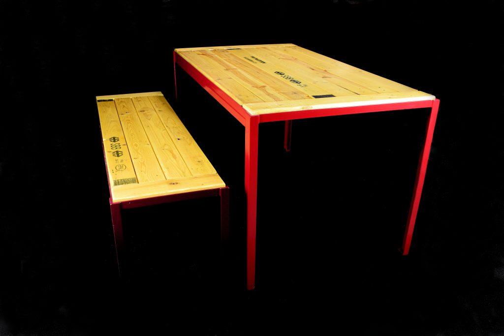 Foto Tische Bänke